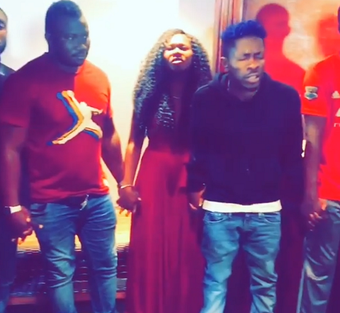 Shatta Wale leads movement to pray against his death