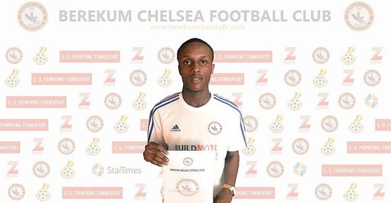 Berekum Chelsea Signs Edmund Arko-Mensah From Wa All Stars