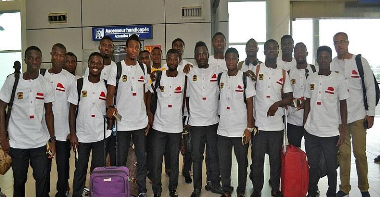 PHOTOS... Asante Kotoko Arrive In Ghana After CAF Confederation Cup Exit