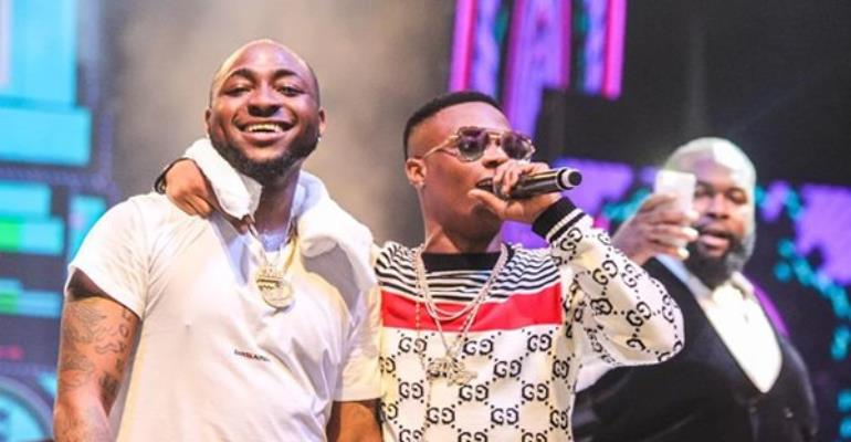 Davido, Wizkid Slam Fan Who Tried To Cause A 'Fight' Between Them