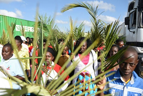 ICGC Children Mark Palm Sunday