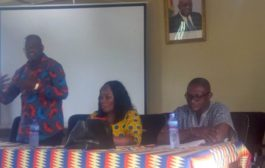 Deputy Local Government Minister Pays Working Vistit To Tain District Assembly