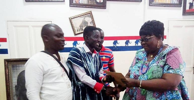 NPP Elections: Dr. TK Picks Forms For National Organiser