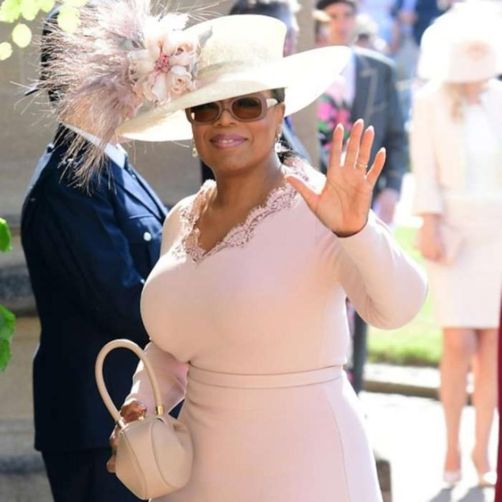 Oprah's Appearance At Royal Wedding Surprises Many