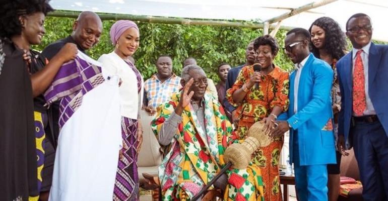 Photos: Kufuor launches AU Arts Festival; Menzgold boss donates $100,000
