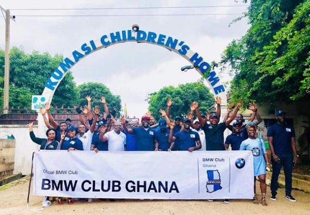 BMW Club storms Kumasi metropolis