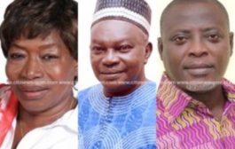 #NPPConference: F.F. Anto, Asobayire, Omari Wadie elected Vice-Chairpersons