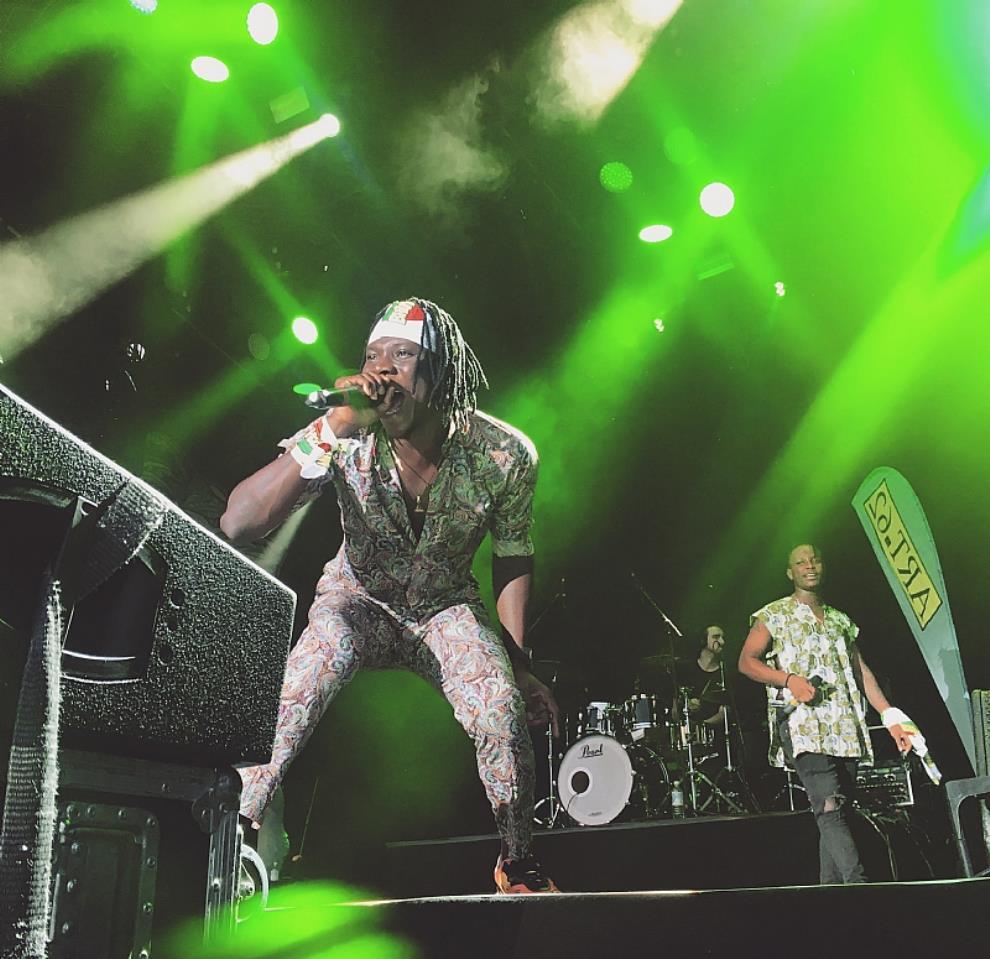 "Stonebwoy slams Summerjam 2018 with ""Epistles Of Mama"" album in Germany"
