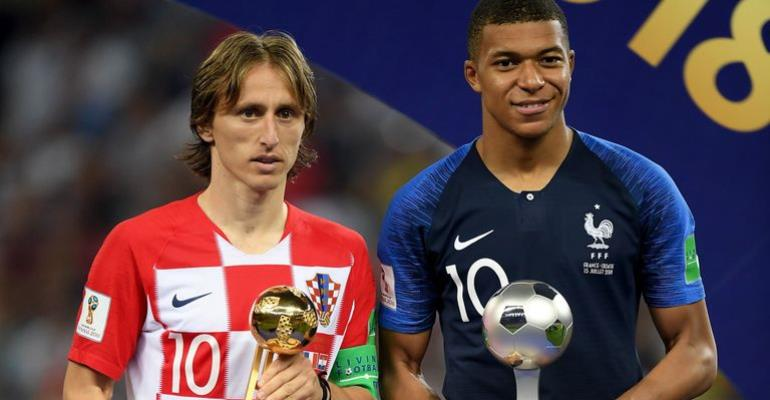 2018 World Cup: Luka Modric, Kylian Mbappe, Thibaut Courtois Honoured