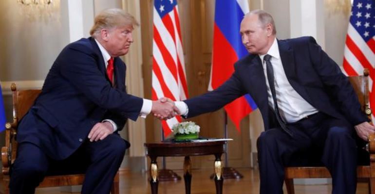 Helsinki Theatrics: Trump meets Putin