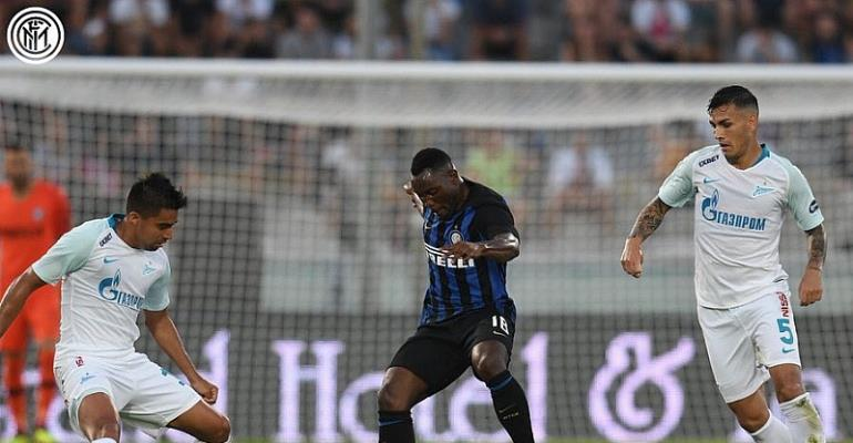 Match Report: Inter Milan 3 : 3 Zenit St Petersburg: Kwadwo Asamoah Excels In Six Goal Thriller