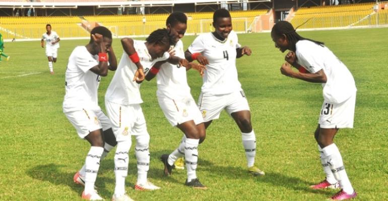 Black Princesses Thrash Army Ladies 7-0 In Friendly Ahead Of FIFA U-20 Women's World Cup