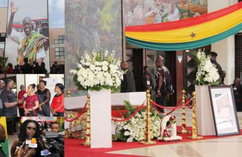 Ghanaians Pay Their Last Respect To Amissah-Arthur
