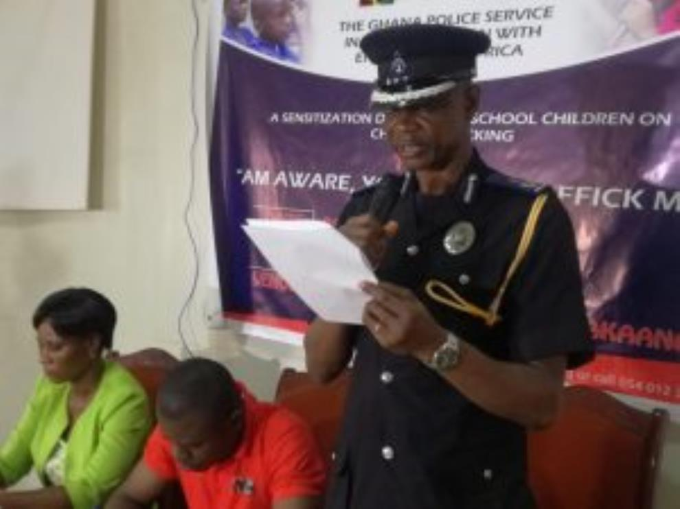 Central Regional Police Gets Tough On Child Trafficking