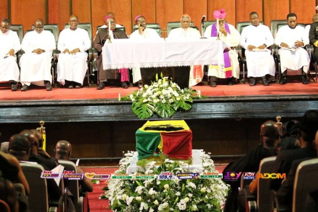 Archbishop Palmer-Buckle begs for quicker funerals