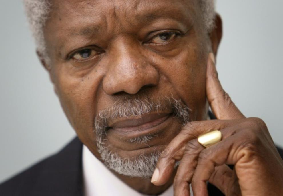 'Guiding force for good': World mourns loss of Kofi Annan