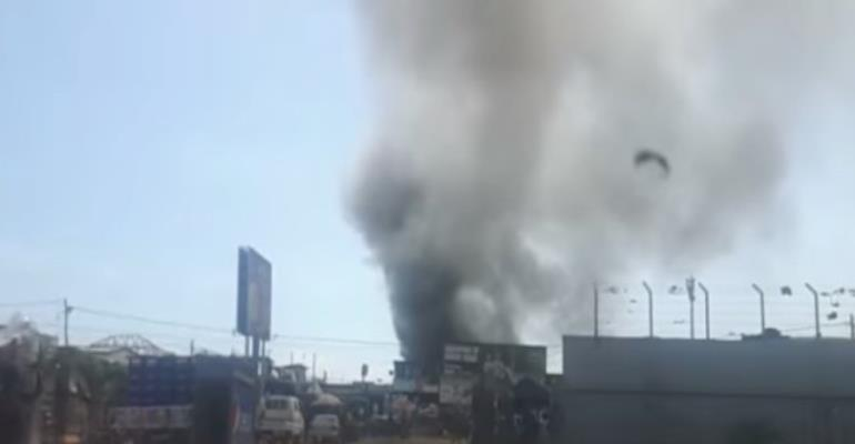 One Person In Critical Condition Following Kokomba Market Fire