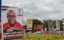 NDC Billboards Hit Kumasi