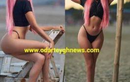 Sister Derby Flaunts Her Body To Tease Medikal