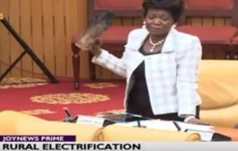 Drama As MP Carries Firewood, Lantern To Parliament