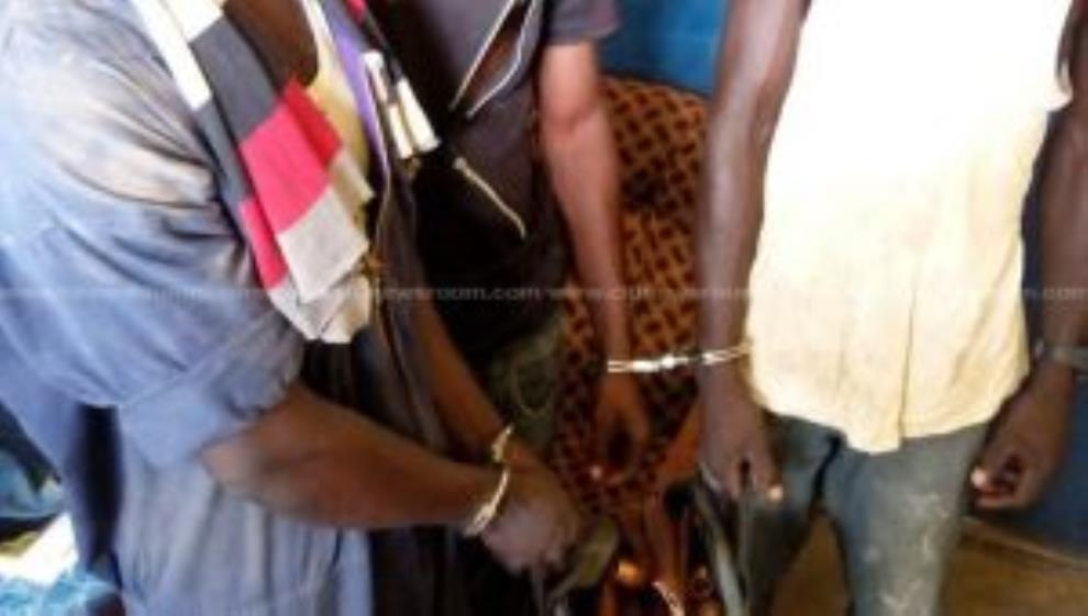 Dodowa Land-Guards Arrested