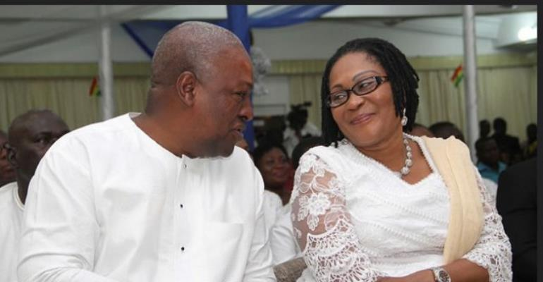 Mahama, wife don't have investments with Menzgold