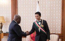 Madagascar President Touts Akufo-Addo's Government as Impressive