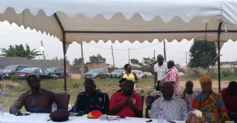 MP Urges Pokuase Residents to Form Association Against Crime
