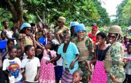 Ghana's Female Peacekeeping Officers Winning Trust of People in DR Congo