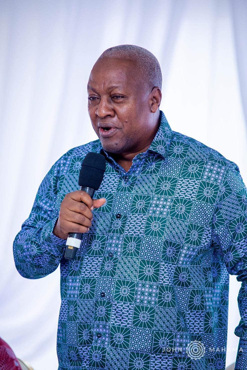 Reality Will Expose You– John Mahama To Bawumia