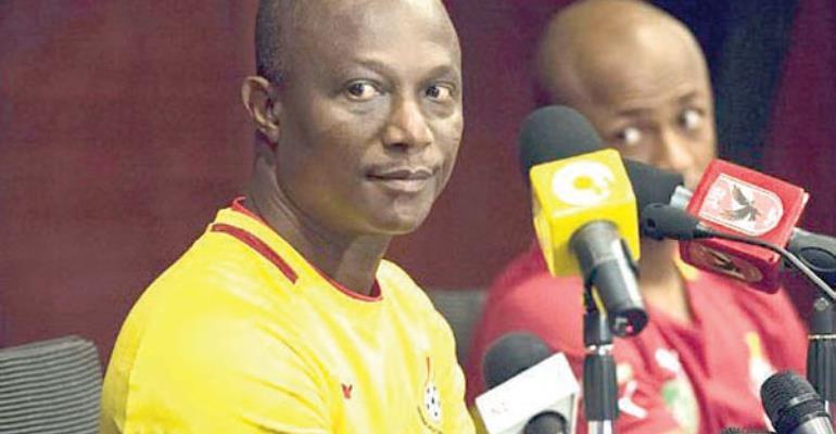 TV Presenter Assaults Coach Kwasi Appiah?