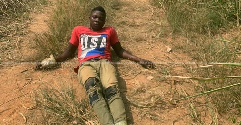 Koforidua: Car Snatchers Abandon Vehicle, Bolt After Seeing Police