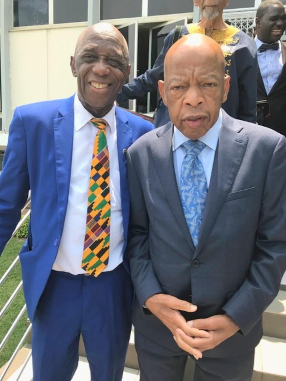 Dr Thomas Mensah Meets Speaker Nancy Pelosi, US Congretional Delegation