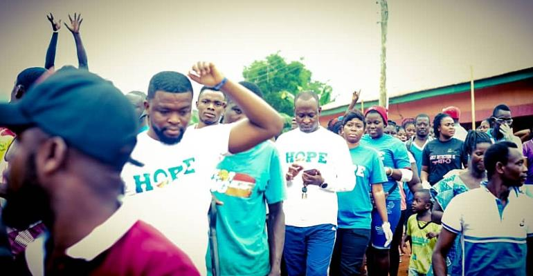 HOPE Campaign Goes To Bompieso With Cleanup Exercise