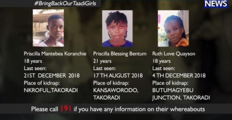 Takoradi Missing Girls Dead — Police DNA Confirms