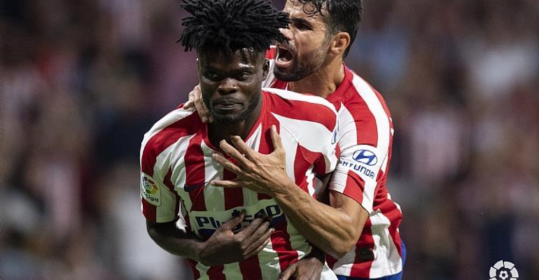 Thomas Partey Elated With Atletico Madrid Win Over Eibar