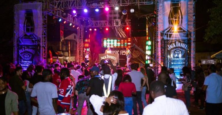 Jack Daniels Music Fest: Ghanaian Musicians Rock The Streets Of Accra