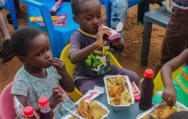 Young People's Initiative Visits Rising Star Orphanage Home