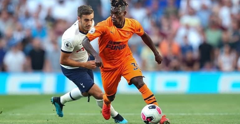 Christian Atsu Charges Newcastle Teammates To Work Hard