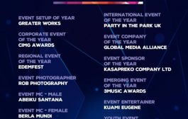 VGMA, Tidal Rave, Santana Honoured At Ghana Event Awards 2019