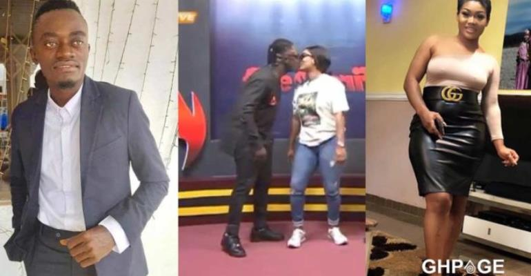 [Video] Countryman Songo kisses Lil Win's Girlfriend On TV