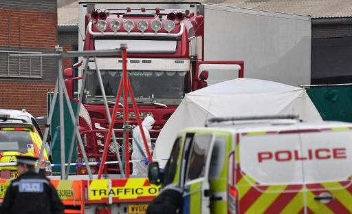 Truck with 39 dead bodies found in Essex on Wednesday came from Belgium