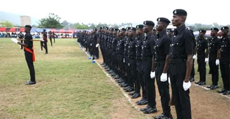Police To Embark On Route March Ahead of Xmas