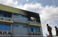 Fire service brings GRA office blaze under control after two-hour battle