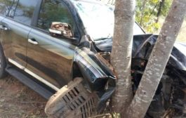 Abu Jinapor Involved In Car Crash At Busunu