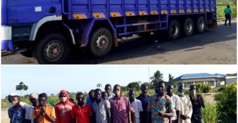 14 Nigerians, 13 Nigerienes Grabbed At Akanu Border