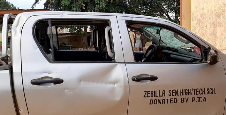 Military Takeover Zebilla SecTech, Fire Warning Shot To Chase Out Rioting Third-Year Students