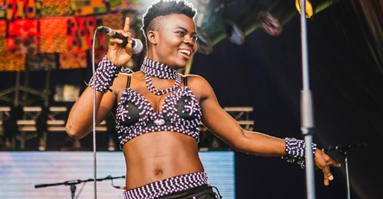 Accra International Book Festival hosts Afro-pop singer Wiyaala on #CatchUpAfrica