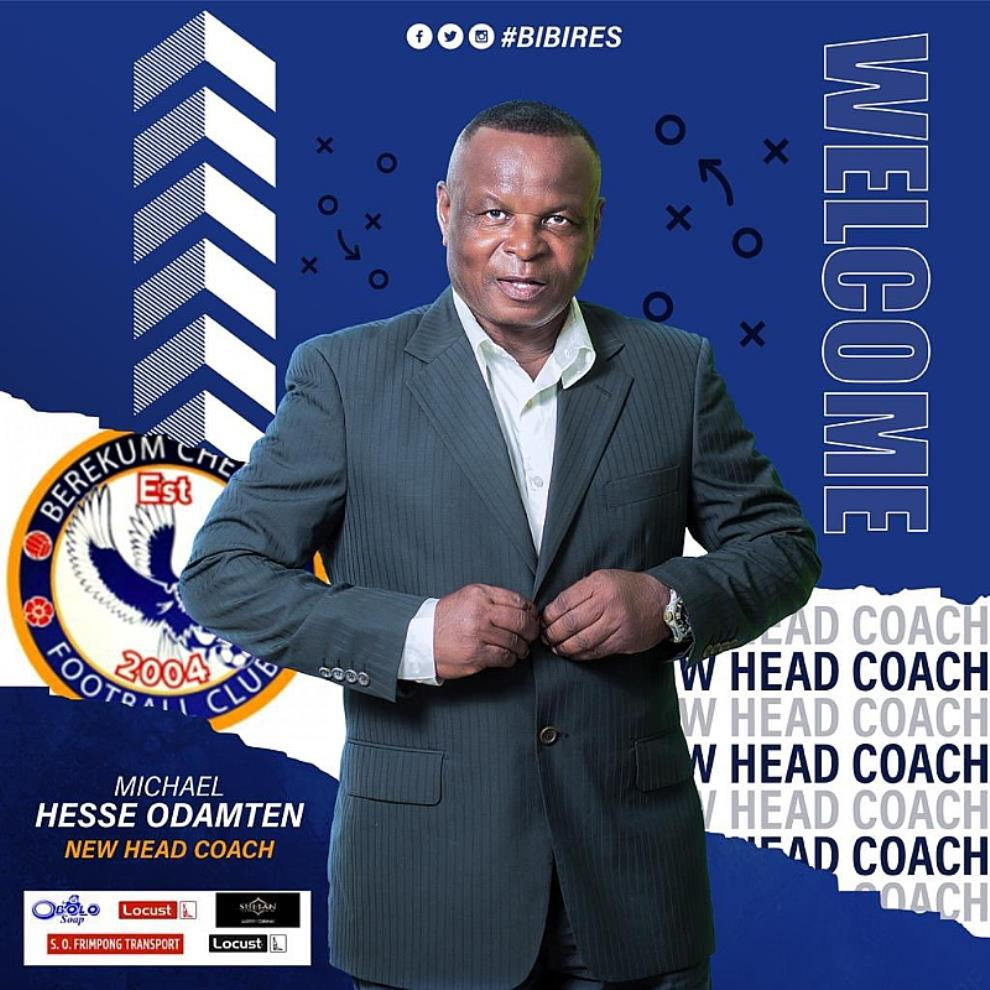 Berekum Chelsea Announce Appointment Of Hesse Odamten As New Head Coach