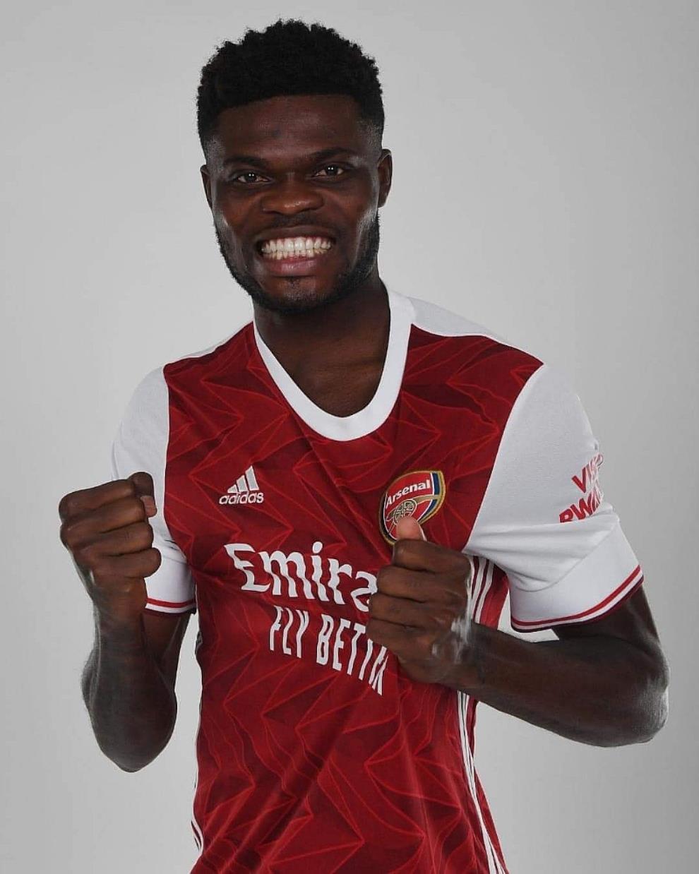 Arsenal Finally Announce Thomas Partey's Arrival [Photos]